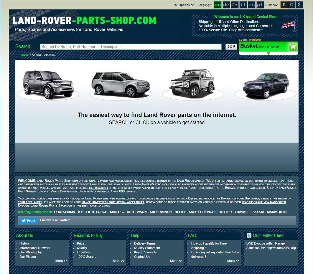 Land Rover Transmission Identify